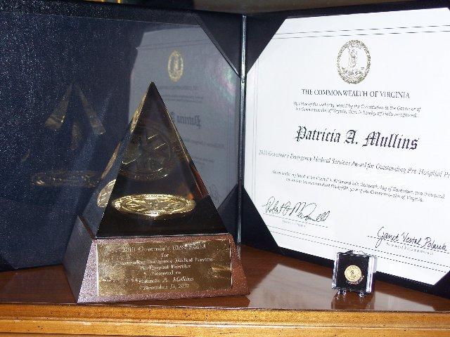 Patty's Award