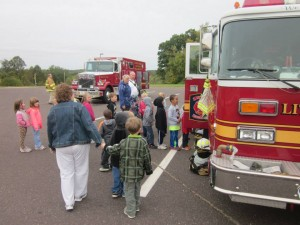 Emerald Hill Students attend Fire Safety Program