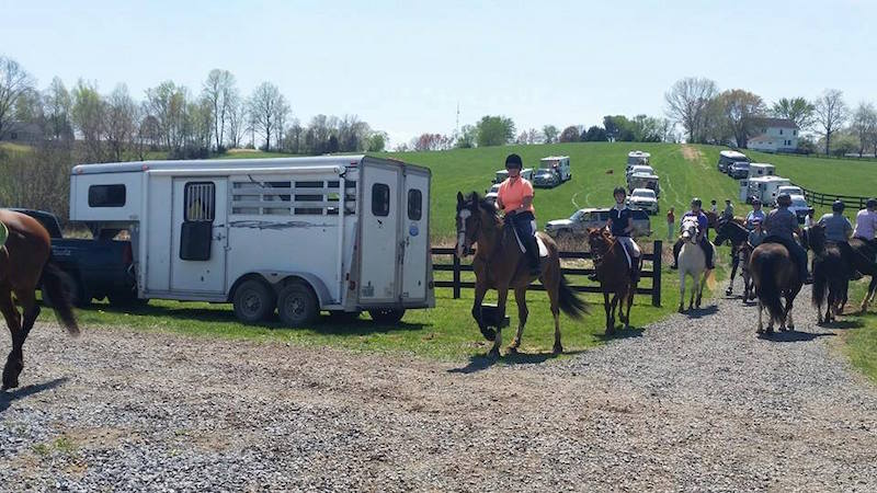 Technical Large Animal Rescue Team Benefit Trail Ride Spring 2015