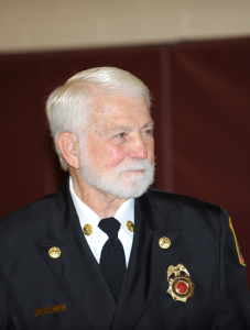Ed Kelso, President, Little Fork Volunteer Fire and Rescue Company, Rixeyville VA