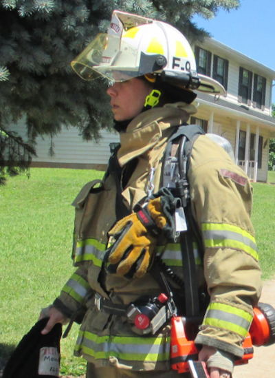 Melissa Mainville, Lieutenant, Little Fork Volunteer Fire & Rescue Company, Rixeyville, VA